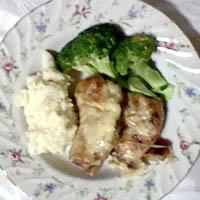 鶏胸肉の手抜きチーズ焼き